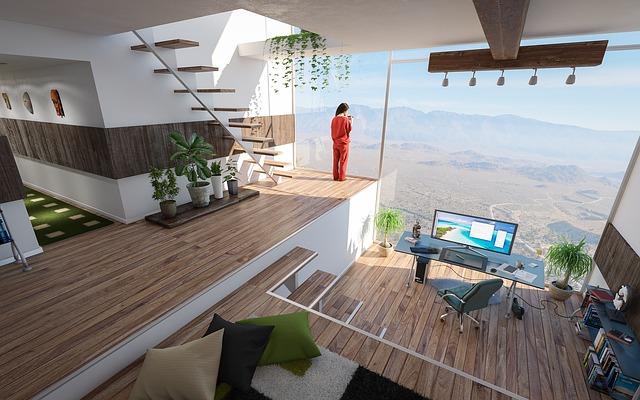 Ładne mieszkanie.