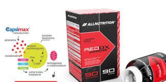 Spalacz tłuszczu ograniczajacy apetyt - REDOX HARDCORE