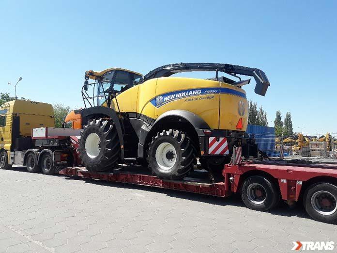 Transport ciężkich maszyn - jak to się odbywa?