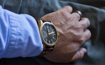 Skórzany pasek do zegarka